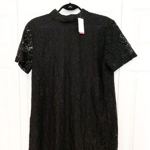 Joe Fresh Dresses - Black Lace Shift Dress